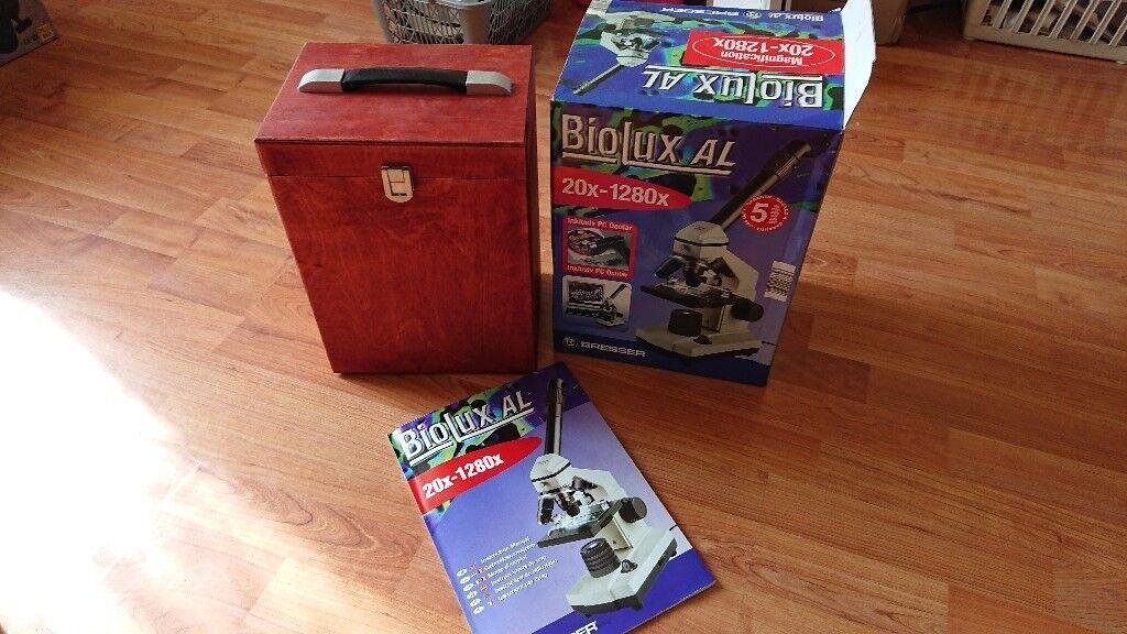 Bresser biolux al microscope kit magnification