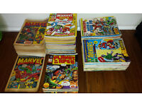 330+ Vintage Marvel Comic collection + More large editions + others