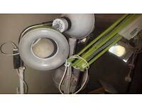 Large professional magnifying lamps (various)