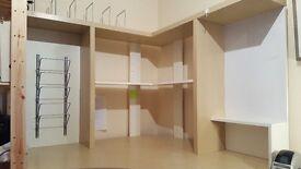 Corner Desk with White Board