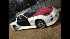 Sale for swap Widebody Mazda Rx7 (project) £9000 near complete car may consider px Or of An cash