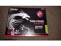MSI GeForce GTX 770 Twin Frozr Gaming OC Edition Graphics Card - 2GB