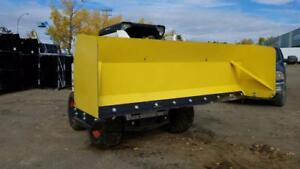 "LOWEST PRICE ! SNOW PUSHERS PLOW 72"" / 96"" / 120"" SKID STEER QUICK ATTACH SNOW BUCKET SNOW PLOW SCRAPER"