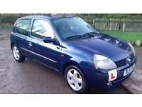 £600 one or swap for motorbike clio 1.2 11 month mot