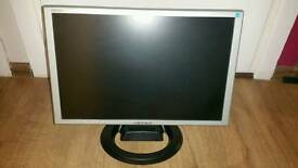 "Hanns-G 19"" monitor. Built-in speakers"