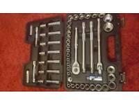 Halfords advanced socket set tools