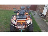 Quadzilla x8 800cc 15reg road legal 4x4 quad. Performance upgrades. May px motorbike and cash