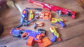NERF GUNS AND OTHER GUNS FOR SALE