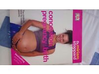Book 1:Conception,pregnancy and birth. Book2: First time parents by Dr Miriam Stoppard
