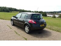 Renault Megane 1.5dci 2005 full year mot only £30 yearly toad tax