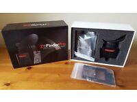 Zacuto Z-Finder Pro optical viewfinder + Battery grip extender plate