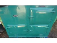 Aga 2 oven solid fuel or oil fired cooker used but in good order ,