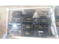 FORD CD/TAPE PLAYERS LOADS TO CHOOSE FROM