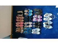 15 pairs of high heels