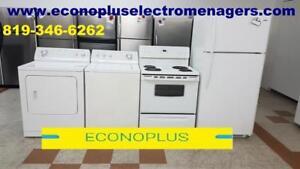 ECONOPLUS LIQUIDATION IMBATTABLE 4 ELECTROMENAGERS DE QUALITE A PARTIR DE 799.99$ TAXES INCLUSES