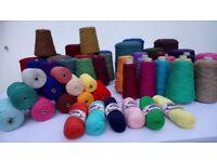 Wool & Cotton Handweaving Yarns