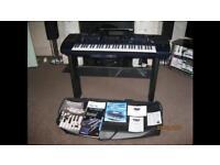 Roland EM2000 Professional keyboard, pedals etc