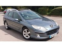 PEUGEOT 407 2.0 HDI 6 SPEED DIESEL 2005 (12 MONTHS MOT)FULL SERVICE HISTORY