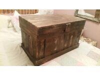Shabby chic storage chest