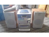 Sony CMT-EP313 Micro Hi-Fi CD, Cassette and radio player with speakers