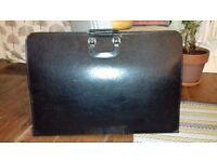 Black Faux Leather Art Portfolio Case 72cm x 49cm