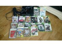 xbox 360 120gb loads of games and extras