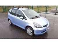 Automatic 2002 Honda Jazz SE CVT 1.3 5 Door 1 Year MOT Full Service History 58000 Miles Only..