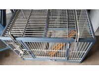 Kings cages aluminium parrot