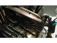 Msi nvidia geforce GTX660 2GB TWIN FROZR 3
