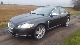 Jaguar XF premium luxury 2.7 V6 twin turbo diesel