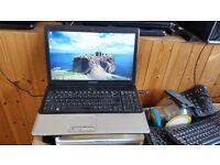 HP Compaq Presario CQ61 windows 7 300g hard drive 3g memory webcam wifi dvd drive
