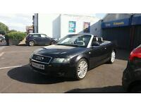 Audi a4 convertible 2.5v6 turbo diesel manual