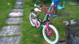Girls bicycle in good condition