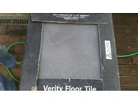 blck/charcoal fly tiles good quality 7sq meters