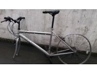 Used hybrid bicycle TRAX. Not working. For parts