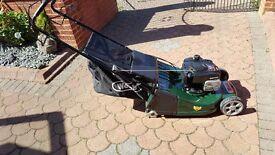 Webb 19in rear roller lawnmower
