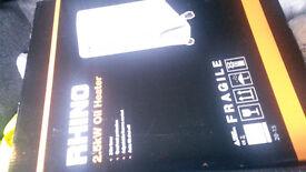 Rhino 2.5kw oil heater
