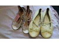 Girls sandles and shoes new