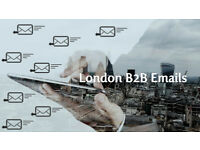B2B Email List with contact details of 4500 London's TOP decision makers