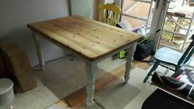 Farm house style dining table
