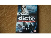Dicte - Season 1 Brand New DVD (Scandinavian Crime Drama)