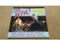 THE WHO ''GREATEST HITS'' ALBUM ORIGINAL COPY ''MAGIC BUS''SUBSTITUTE''MY GENERATION''