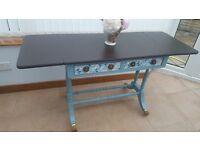 Vintage Drop Leaf Table, Writing Desk