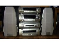 Technics 5cd Stereo system