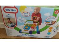 Little tikes 2 in 1 walker, wide tracker