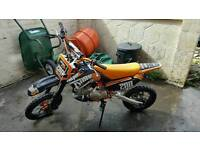 Thumpstar 140 pitbike in great condition offers no stupid offers