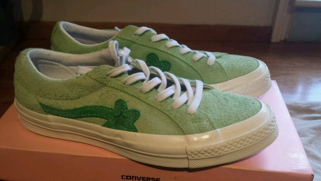 f48d8b86d673 Converse X Golf le Fleur Tyler the Creator Jade Green OF Golf Wang ...