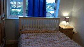 Double room for rent in newly refurbished house: £107 per week. £428 every 4 weeks