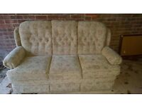 3 seater sofa Brilliant condition