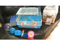 Hamster cage full set up just need hamster